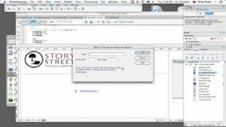 Dreamweaver Tutorial : How to Insert a Flash or Shockwave Movie Into a Web Page With Dreamweaver