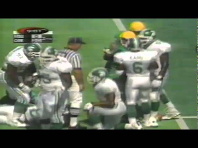 Oregon RB Herman Ho-Ching 13 yard run vs. Michigan State 9-08-1998