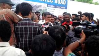 JP Speaks at KPHB Flyover   opening ceremony on 18th May 13