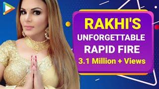 Ranbir-Alia Ranveer-Deepika - Rakhi Sawant's UNMISSABLE rapid fire - HUNGAMA