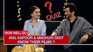DON'T MISS: Anil Kapoor & Madhuri Dixit's EVERGREEN CHEMISTRY makes this QUIZ a Must Watch! - HUNGAMA