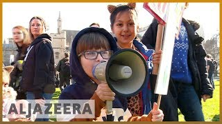🇬🇧 Climate change: UK children demand government action l Al Jazeera English - ALJAZEERAENGLISH