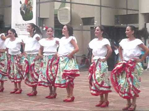 Baile del Joropo en el Museo de la Cultura en Valencia 2010