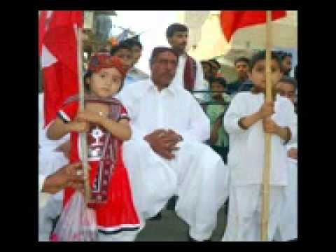 BASHIR KHAN SONG JSQM Hi Allh Basher khan chadi wayo BY YASIN PITAFI