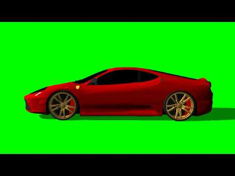 Ferrarie F430 moves - green screen effects -EX7n0B_gvlI