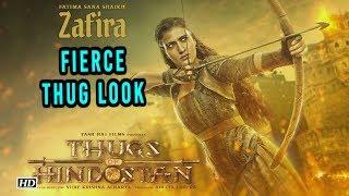 Fatima Sana Shaikh's FIERCE THUG Look | Thugs of Hindostan - IANSLIVE