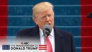 President Donald Trump: 'Together We Will Determine the Course of America' | NBC News - NBCNEWS