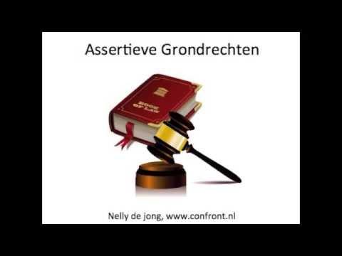 Tien assertieve rechten
