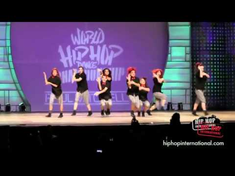 (HD) SORORITY DANCE CREW NZ- HIP HOP INTERNATIONAL 2011 - GOLD MEDAL VARSITY DIVISION