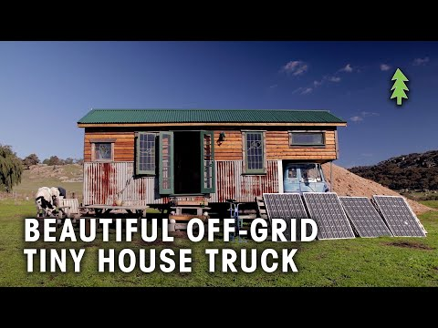 Couple Build a Beautiful Off-Grid Tiny House Truck!