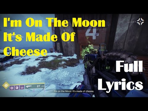 I'm On The Moon, It's Made Of Cheese Full Musical Cover