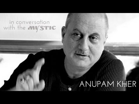 "Live ""In Conversation with the Mystic"" Anupam Kher with Sadhguru - 20th Sept"