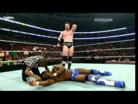 Sheamus Super Brogue Kick To Kofi Kingston