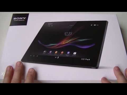 Sony Xperia Tablet Z - Dballage (unboxing)