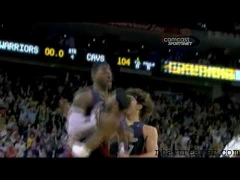 LeBron Buzzer Beater Against Warriors! [High Definition]