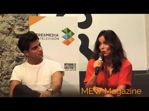 Declaraciones de Aitana Sánchez Gijón - Doña Blanca en Galerías Velvet (FesTVal 2013)