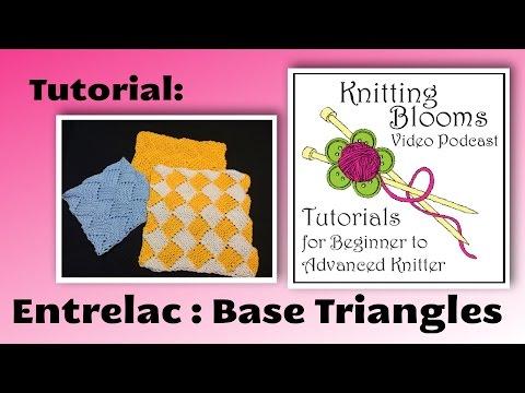 Tutorial Entrelac Base Triangles