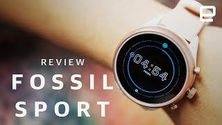 Fossil Sport review: Cute, but not a major performance upgrade - ENGADGET