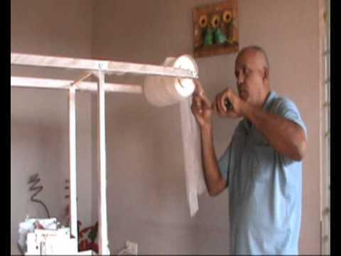 Máquina de fraldas com barreiras
