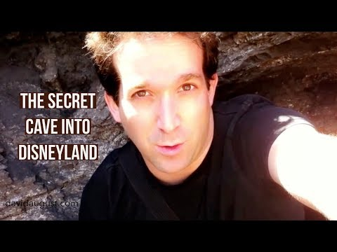 The Secret Cave into Disneyland