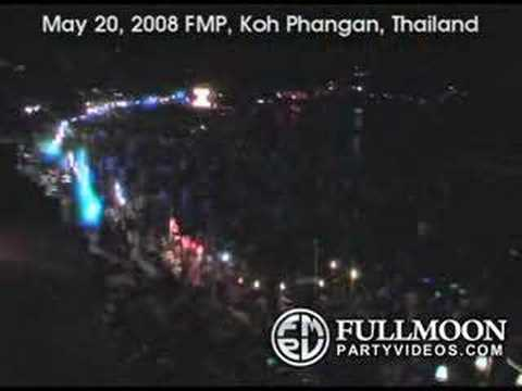 full moon party videos  2008