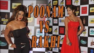 Exclusive! Poonam Pandey vs Rakhi Sawant at an event - BOLLYWOODCOUNTRY