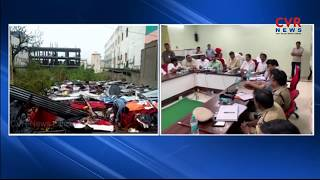 CM Chandrababu Naidu reviews Titli cyclone | Srikakulam Dist | CVR News - CVRNEWSOFFICIAL