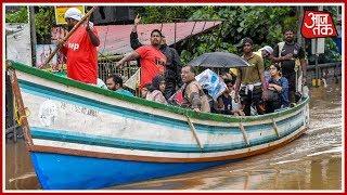 Kerala Floods: सड़क पर तैरती नाव, सैलाब में फसा इंसान ! - AAJTAKTV