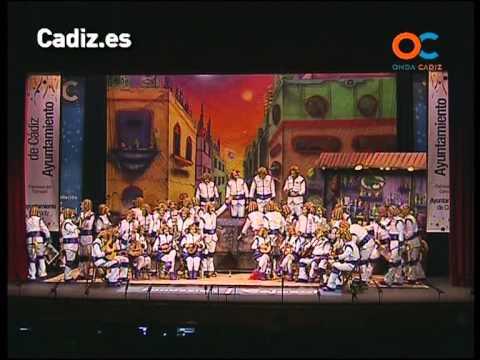 Sesión de Cuartos de final, la agrupación Ustedes estáis fatá actúa hoy en la modalidad de Coros.