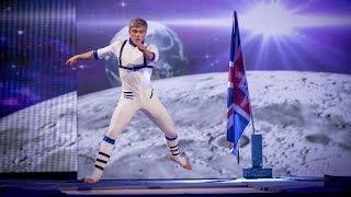 Bobby Lockwood's Trampoline Performance to 'Rocket Man' - Tumble: Episode 4 - BBC One - BBC