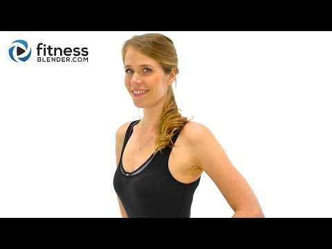 40 Min Cardio HIIT Workout + Butt, Thighs, Abs: Ultimate Workout for Belly Fat Loss, No Equipment