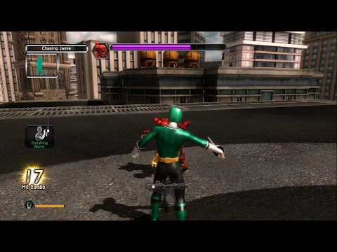 Power Rangers Super Samurai, Xbox 360 Playthrough with Kinect