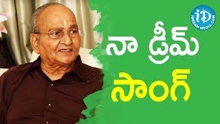 Director K Vishwanath About His Dream Song - Sruthilayalu | Viswanadh Amrutham - IDREAMMOVIES