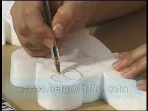 BEL GODINHO - DVD - CURSO DE ESCULTURA EM ISOPOR