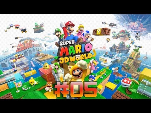 Super Mario 3D World - WIIU - Parte 5 - por Hu0r