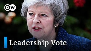 Theresa May announces to contest no-confidence vote | DW News - DEUTSCHEWELLEENGLISH