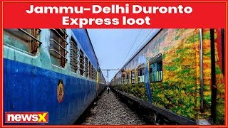 Armed robbers loot passengers onboard Jammu-Duronto Express in Delhi - NEWSXLIVE