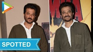 SPOTTED: Anil Kapoor at J.W.Marriot Juhu - HUNGAMA