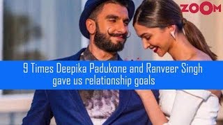 9 Times Deepika Padukone & Ranveer Singh gave us relationship goals - ZOOMDEKHO
