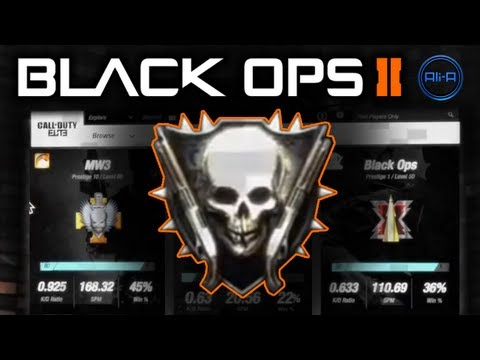 Black Ops 2 - ELITE FREE! Zombies Ray Gun & Multiplayer Stats! - Call of Duty BO2 Trailer COD
