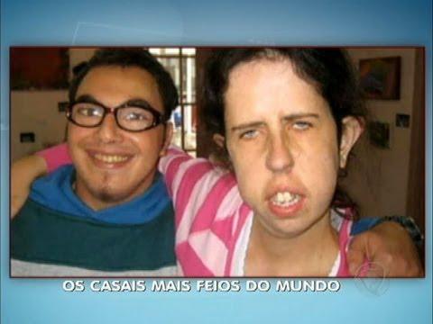 Almas gêmeas? Conheça os casais mais feios do mundo no Jornal da Esquisitice