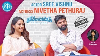 Brochevarevarura Team Exclusive Interview || Sree Vishnu || Nivetha || Talking Movies With iDream - IDREAMMOVIES