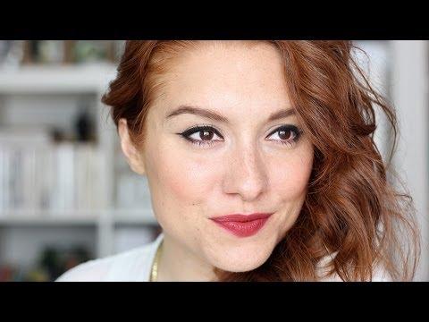 3 façons de porter un rouge à lèvres rouge / bordeaux