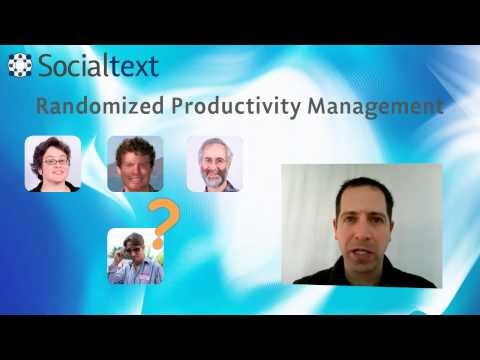 Socialtext Enterprise Chatroulette