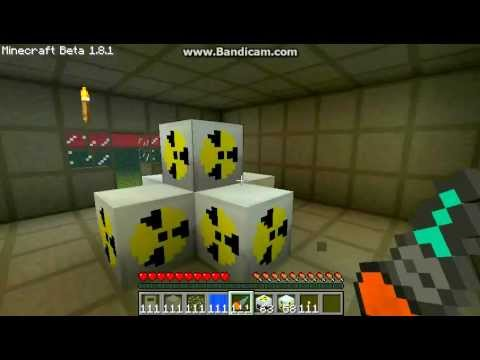 building a nuclear reactor in minecraft first vid I made 