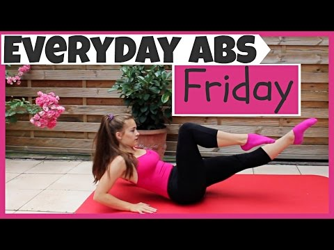 Everyday Abs Series - Friday [3.5 Minute Abs]