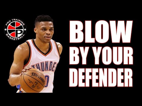 How To Blow By Your Defender | Read & React | Pro Training Basketball
