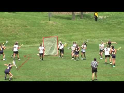 Women's Lacrosse- Amanda Norcini backhand, over-the-shoulder goal vs. Towson in CAA Championships