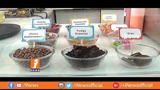 Papacream Introduced Special Ice Creams For City Peoples In Hyderabad | Metro Colours | iNews - INEWS