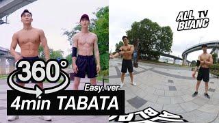 【EP44】360 VR Full body 4min. TABATA